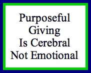 Purposeful Giving Is Thoughtfu